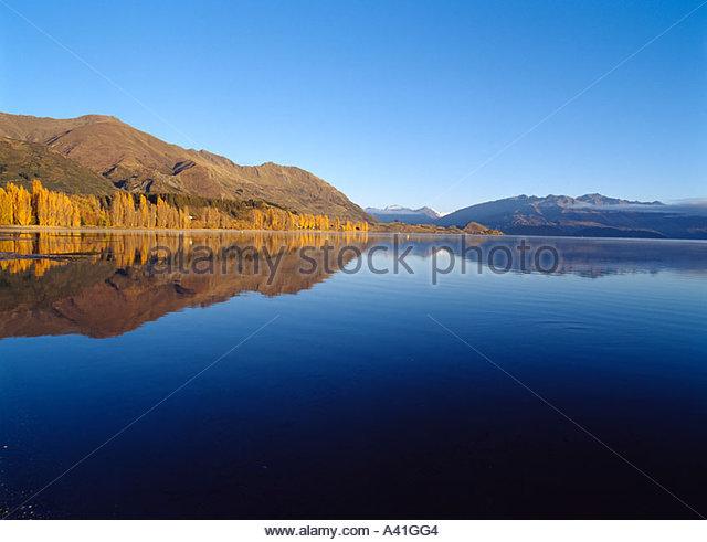 reflection mountains wanaka the - photo #17