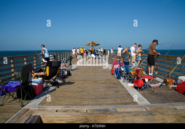 Fishing on jacksonville beach pier jacksonville beach for Fishing piers in jacksonville fl
