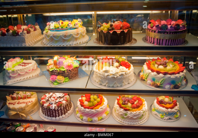 Chinese Cake Shop In Soho