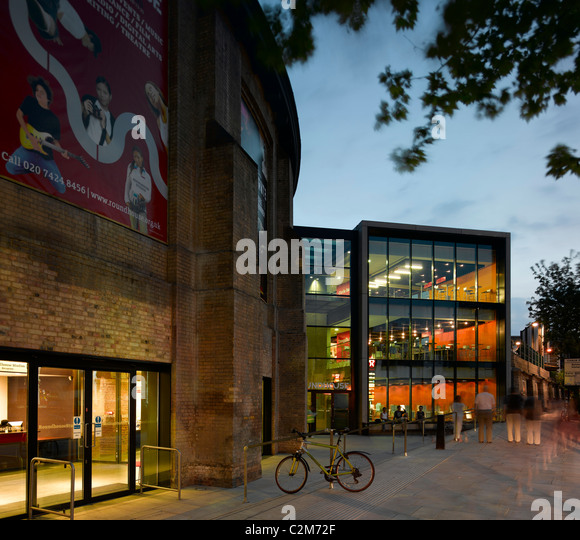 The Roundhouse Theatre Camden London New Extension