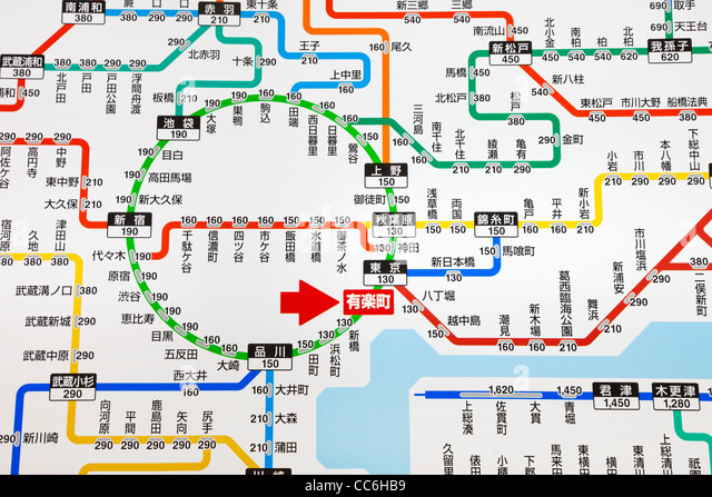Map Of Japan Including Train Lines Ecosia