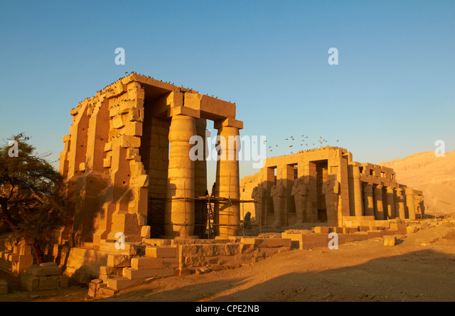 Ramesseum Temple, West Bank Of The River Nile, Thebes