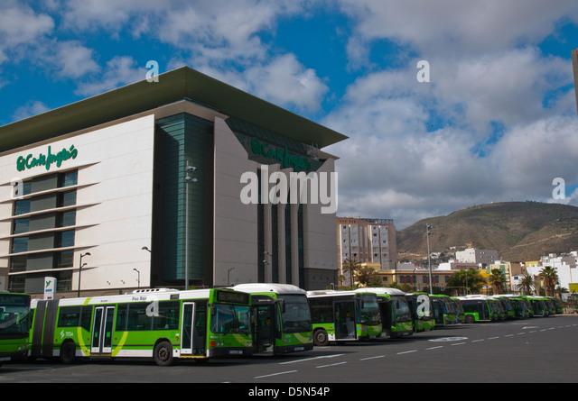 Buses in front of el corte ingles department store estacion de stock photo royalty free image - El corte ingles stores ...