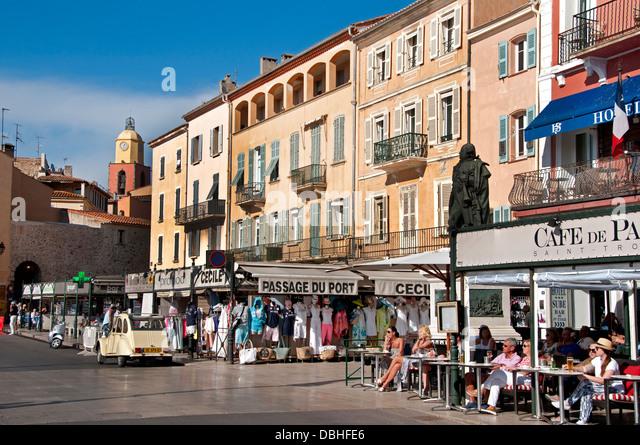 Cafe Port St Tropez