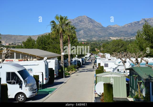 El raco camping avenue doctor severo ochoa benidorm for Camping el jardin alicante