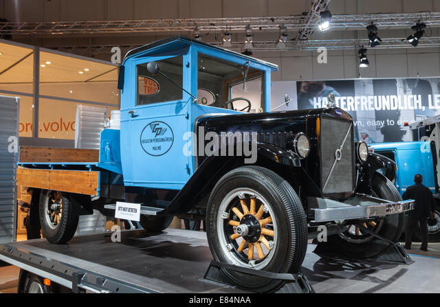 historic volvo truck from 1929 at the 65th iaa commercial vehicles stock photo royalty free. Black Bedroom Furniture Sets. Home Design Ideas