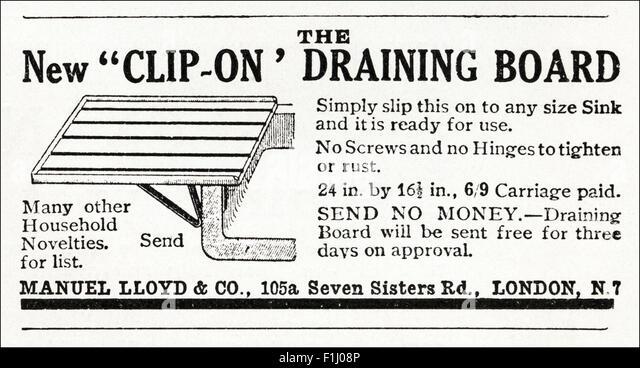 1920s advert. Magazine advertisement dated 1923 advertising Clip ...