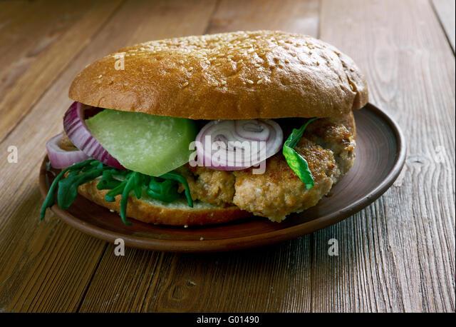 Balkan Burger Stock Photo, Royalty Free Image: 103287548 - Alamy