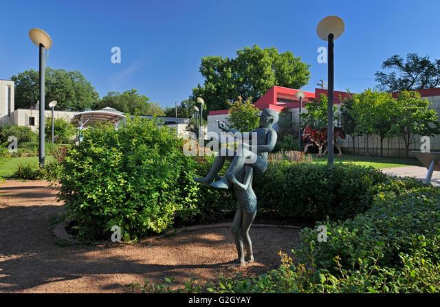 St Boniface Sculpture Garden At St Boniface City Hall