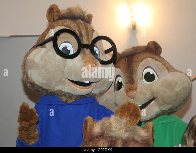 alvin and chipmunks road chip cinemaxx magdeburg stock photo royalty free image 117717563 alamy. Black Bedroom Furniture Sets. Home Design Ideas